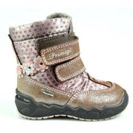 Primigi Dívčí zimní boty - hnědé