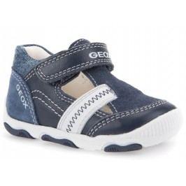 Geox Chlapecké sandály Balu - modro-bílé