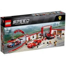 LEGO® Speed Champions 75889 Úžasná garáž Ferrari
