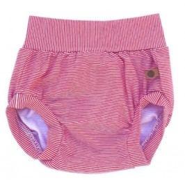 Lamama Dívčí kalhotky na plenu - červeno-bílé