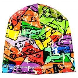 Bexa Chlapecká prodloužená čepice Kaseta - barevná