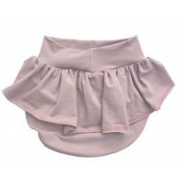 Lamama Dívčí kalhotky na plenu s kanýrem Loca - béžové
