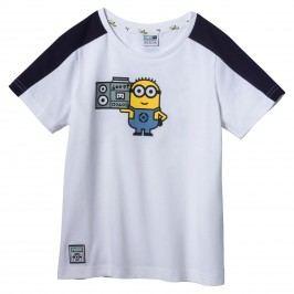 Puma Chlapecké tričko Mimoni - bílé