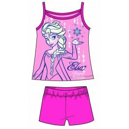 Disney by Arnetta Dívčí set tílka a kraťas Frozen - fialový