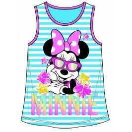 Disney by Arnetta Dívčí tílko Minnie - tyrkysové