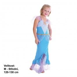 MaDe Šaty Mořská panna modrá 120 - 130 cm