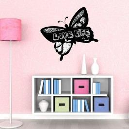 Walplus Samolepicí tabule na zeď, motýl