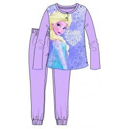 Disney by Arnetta Dívčí pyžamo Frozen - fialové