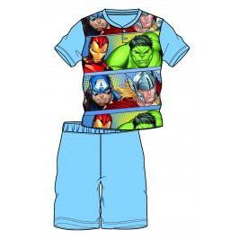 Disney by Arnetta Chlapecké pyžamo Avengers - světle modré