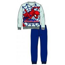 Disney by Arnetta Chlapecké pyžamo Spiderman - šedé