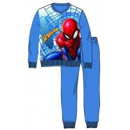 Disney by Arnetta Chlapecké pyžamo Spiderman - modro-šedé