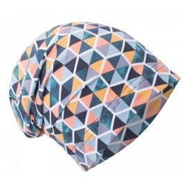 Unuo Dívčí čepice Trojúhelníky v šestihranu - petrolejová
