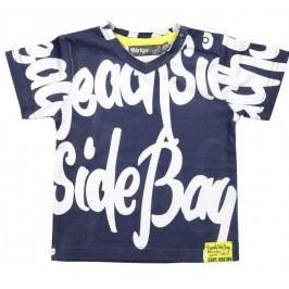 Dirkje Chlapecké tričko Side Bay - modré