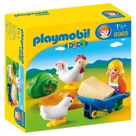 Playmobil 6965 Farmářka s kuřaty (1.2.3)