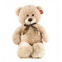 Rappa Velký plyšový medvěd Bono 80 cm světlý