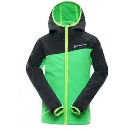 ALPINE PRO Chlapecká bunda NOOTKO 4 - zelená
