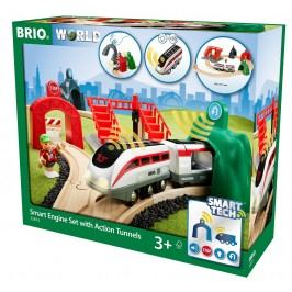 Brio WORLD SMART TECH 33873 Sada aktivních tunelů SMART TECH
