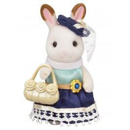 Sylvanian Families Město - chocolate králičice se žlutou kabelkou