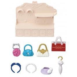 Sylvanian Families Město - módní butik s kabelkami a doplňky