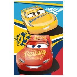 Jerry Fabrics Cars 3 Fleecová deka