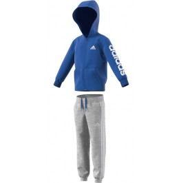 adidas Chlapecká tepláková souprava HOJO - šedo-modrá