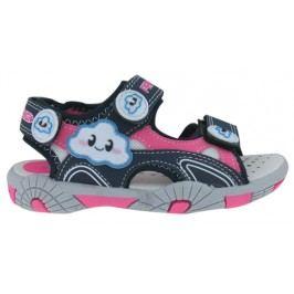 Primigi Dívčí sandály s obláčkem - modro-růžové