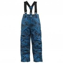 Trespass Modré kostičkované lyžařské kalhoty