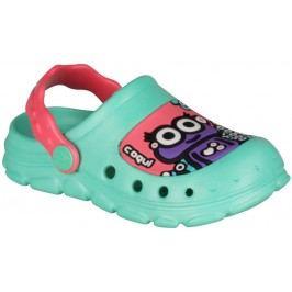 Coqui Dívčí sandály Stoney - mentolové