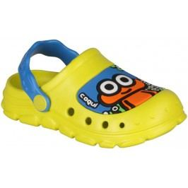 Coqui Chlapecké sandály Stoney - žluto-modré
