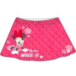 E plus M Dívčí sukně Minnie - červená