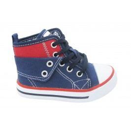 Canguro Chlapecké kotníkové tenisky - modro-červené