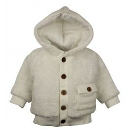 Dirkje Dívčí kabátek - bílý