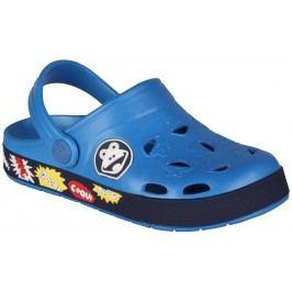 Coqui Chlapecké sandály Froggy - modré
