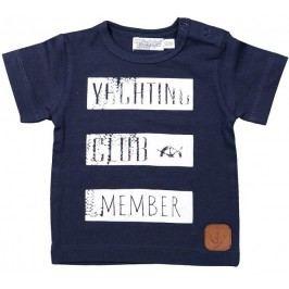 Dirkje Chlapecké tričko Yachting club - modré
