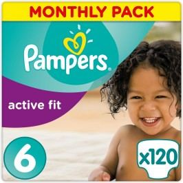 Pampers Pleny Premium Protection Active Fit 6 Extra Large 120 ks