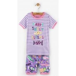 Hatley Dívčí letní pyžamo s bonbóny - barevné
