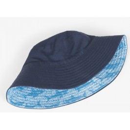 Hatley Chlapecký oboustranný klobouček UV 50+ - modrý