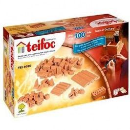 Teifoc Stavebnice Teifoc Cihličky 100 ks