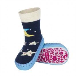 SOXO® Chlapecké ponožky s podrážkou Noční obloha - modré
