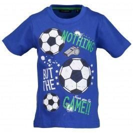 Blue Seven Chlapeckék tričko Fotbal - modré