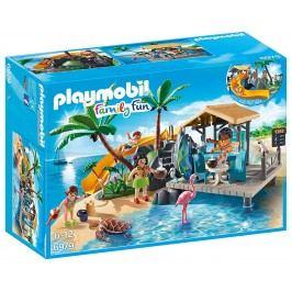 Playmobil Karibský ostrov s plážovým barem