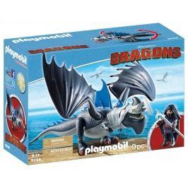 Playmobil Drago s obrněným drakem