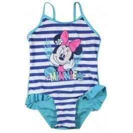 E plus M Dívčí plavky Minnie - modré