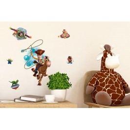 Walplus Samolepka na zeď Toy Story, 80x50 cm