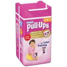 Huggies Pull Ups učící kalhotky pro holky, 8-15kg, 16ks