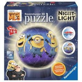 Ravensburger Mimoňové: Já Padouch 3 svítící puzzleball 72 dílků