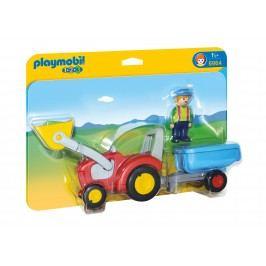 Playmobil 6964 Traktor s přívěsem (1.2.3)