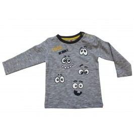 Carodel Chlapecké tričko s očičkama - šedé