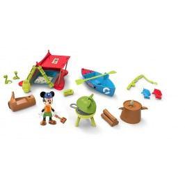 Mikro hračky Mickey Mouse sada na piknik s kloubovou figurkou