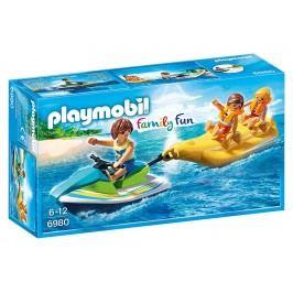 Playmobil Vodní skútr s banánovým člunem